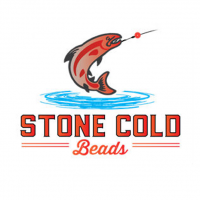 The one and only trout fishing beads make from natural gemstone. Stone Cold Beads